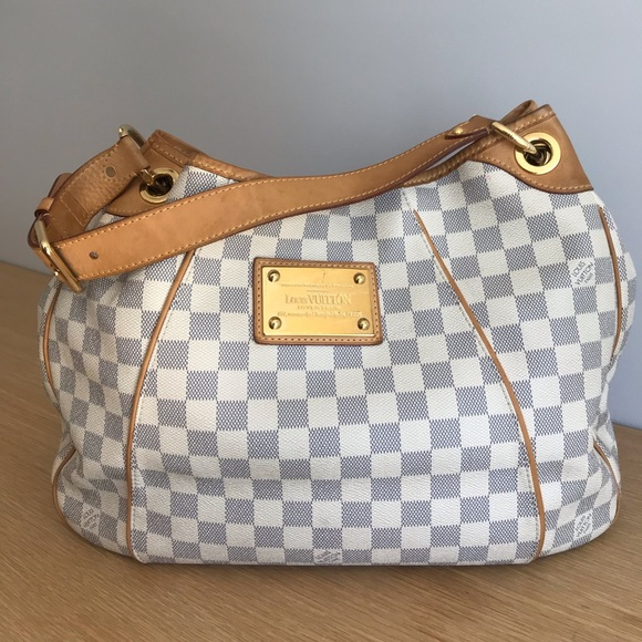 9573011015b5b Louis Vuitton Handbags - Louis Vuitton Galliera PM damier azur canvas